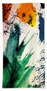 Abstract - Splashes Of Color Beach Towel