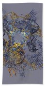 Abstract 101913 Beach Towel