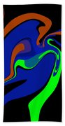 Abstract 124 Beach Towel