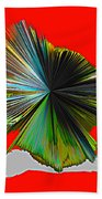 Abstract #140810 - Untitled  Beach Towel