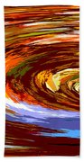 Abstract #140814 - Inside The Pipeline Beach Towel