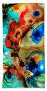 Abstract 4 - Abstract Art By Sharon Cummings Beach Towel