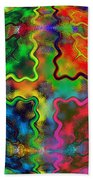 Abstract 42 Beach Towel
