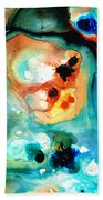 Abstract 5 - Abstract Art By Sharon Cummings Beach Towel
