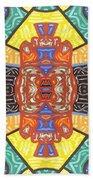 Abstract 55 Beach Towel