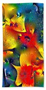 Abstract 69 Beach Towel