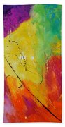 Abstract 77411112 Beach Towel