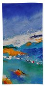 Abstract 88319091 Beach Towel