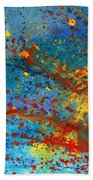 Abstract - Acrylic - Just Another Monday Beach Towel by Mike Savad