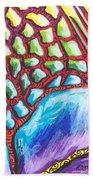 Abstract Animal Print Beach Towel