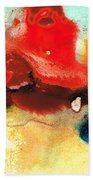 Abstract Art - No Limits - By Sharon Cummings Beach Towel