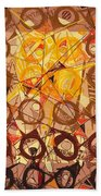 Abstract Art Sixty-six Beach Towel