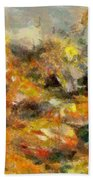 Abstract Autumn 2 Beach Towel