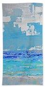 Silver Sky Beach Beach Towel