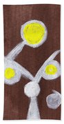 Abstract Bobbles Beach Towel