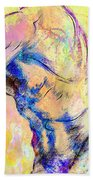 Abstract Bod 6 Beach Towel