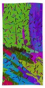 Abstract. Bring In The Noise Beach Towel