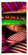 Abstract - Carnival Beach Towel