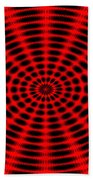 Abstract Circle Beach Towel