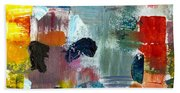 Abstract Color Relationships Lv Beach Towel