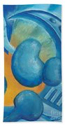Abstract Color Study Beach Towel