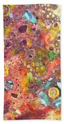 Abstract Colorama Beach Towel