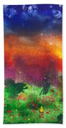 Abstract - Crayon - Utopia Beach Towel by Mike Savad