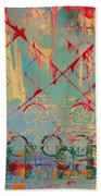 Abstract Cruiser Beach Towel