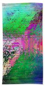 Abstract Cubed 1 Beach Towel
