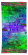 Abstract Cubed 114 Beach Towel