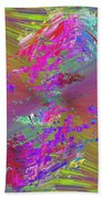 Abstract Cubed 136 Beach Towel
