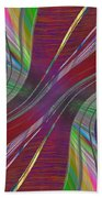 Abstract Cubed 181 Beach Towel