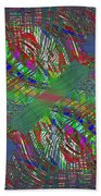 Abstract Cubed 194 Beach Towel