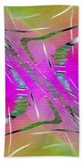 Abstract Cubed 223 Beach Towel