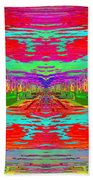 Abstract Cubed 30 Beach Towel