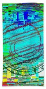 Abstract Cubed 41 Beach Towel