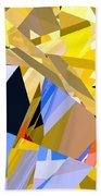 Abstract Curvy 35 Beach Towel