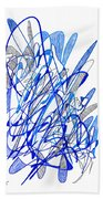 Abstract Drawing Seventy Beach Towel