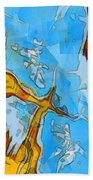 Abstract Elements  Beach Towel
