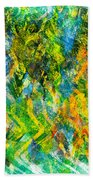 Abstract - Emotion - Admiration Beach Towel