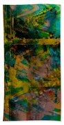 Abstract - Emotion - Facade Beach Towel