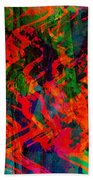 Abstract - Emotion - Rage Beach Towel