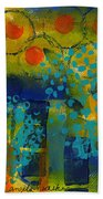 Abstract Expressions - Background Art Beach Towel