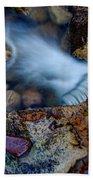 Abstract Falls Beach Towel