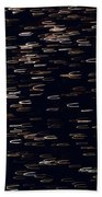 Abstract Fireworks Beach Towel