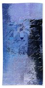 Abstract Floral - 04tl4t2b Beach Towel