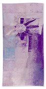 Abstract Floral - A8v4at1a Beach Towel by Variance Collections