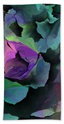 Abstract Floral Expression 041213 Beach Towel