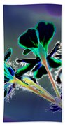 Abstract Flower - Digital Abstract Beach Towel
