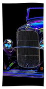 Abstract Ford - Classic Hotrods Beach Towel
